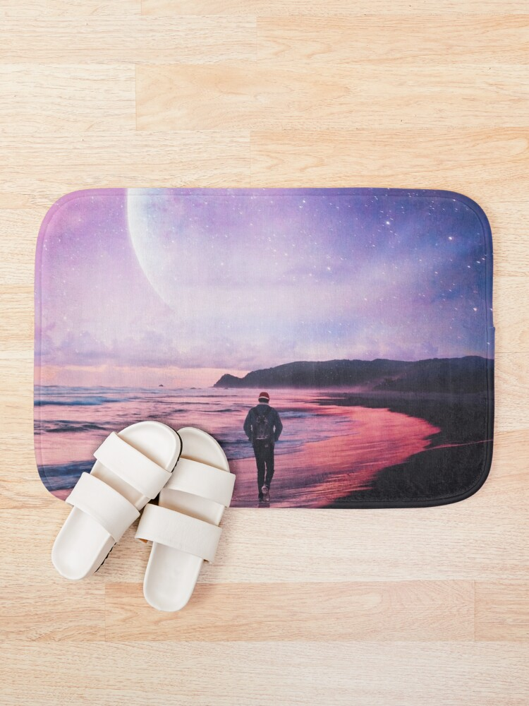 Alternate view of Night Stroll Bath Mat
