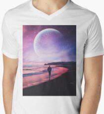 Night Stroll V-Neck T-Shirt
