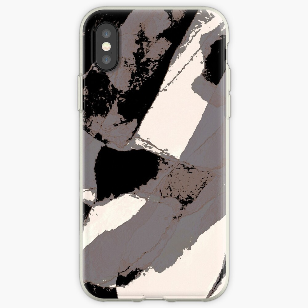 Organic No.1 Abstract #muted #redbubble #artprints #fineart iPhone Case & Cover