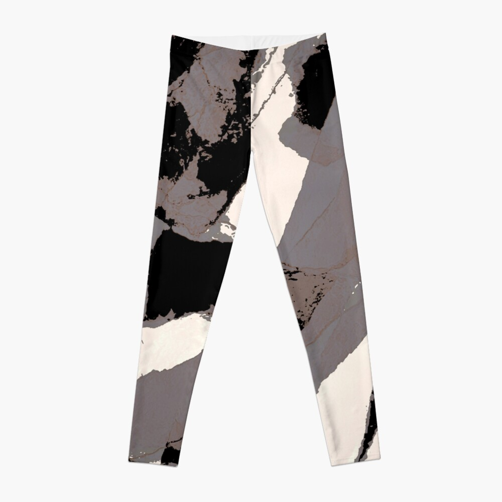 Organic No.1 Abstract #muted #redbubble #artprints #fineart Leggings