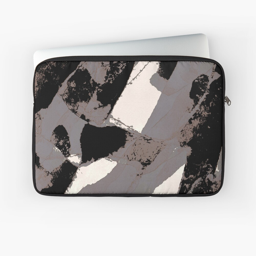Organic No.1 Abstract #muted #redbubble #artprints #fineart Laptop Sleeve