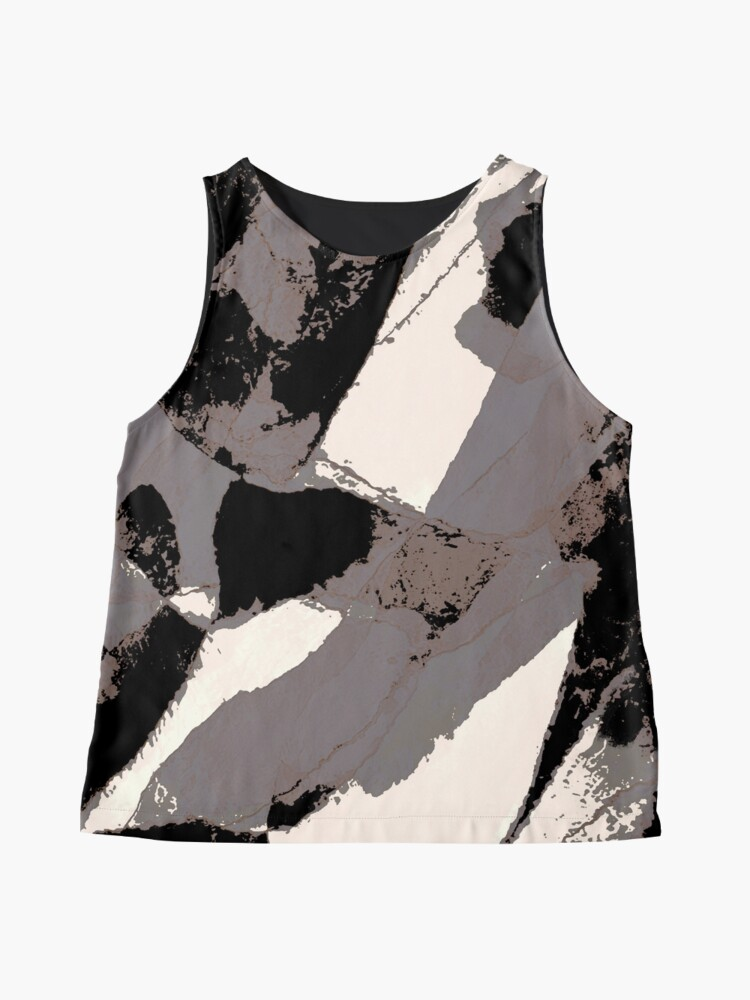 Alternate view of Organic No.1 Abstract #muted #redbubble #artprints #fineart Sleeveless Top