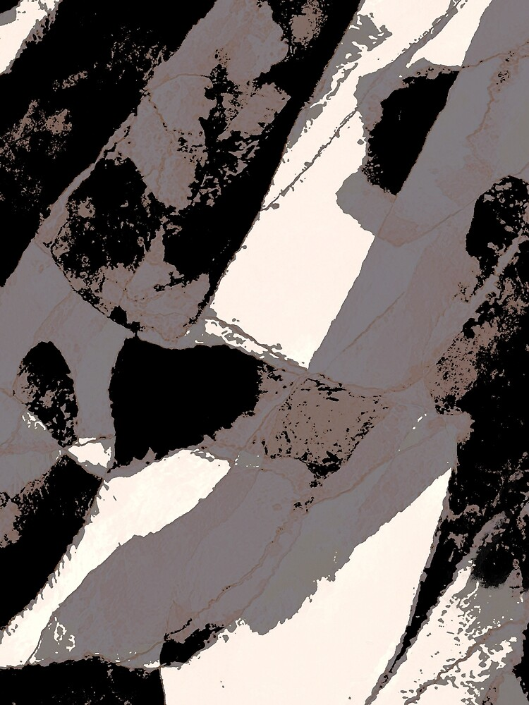 Organic No.1 Abstract #muted #redbubble #artprints #fineart by MenegaSabidussi