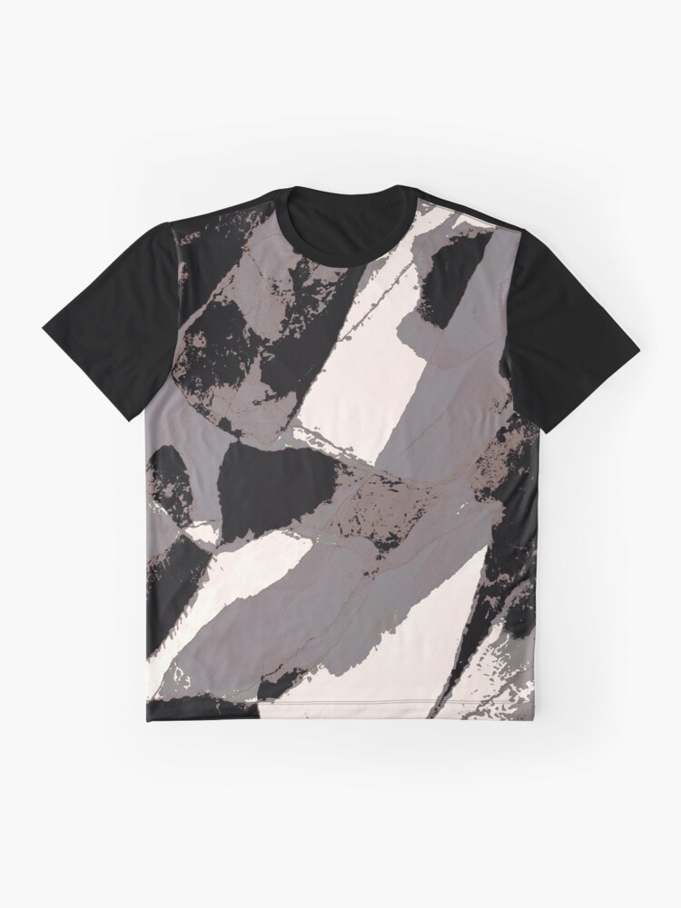 Alternate view of Organic No.1 Abstract #muted #redbubble #artprints #fineart Graphic T-Shirt