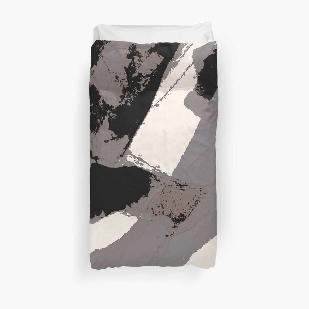 Organic No.1 Abstract #muted #redbubble #artprints #fineart Duvet Cover
