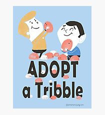 Adopt A Tribble Photographic Print