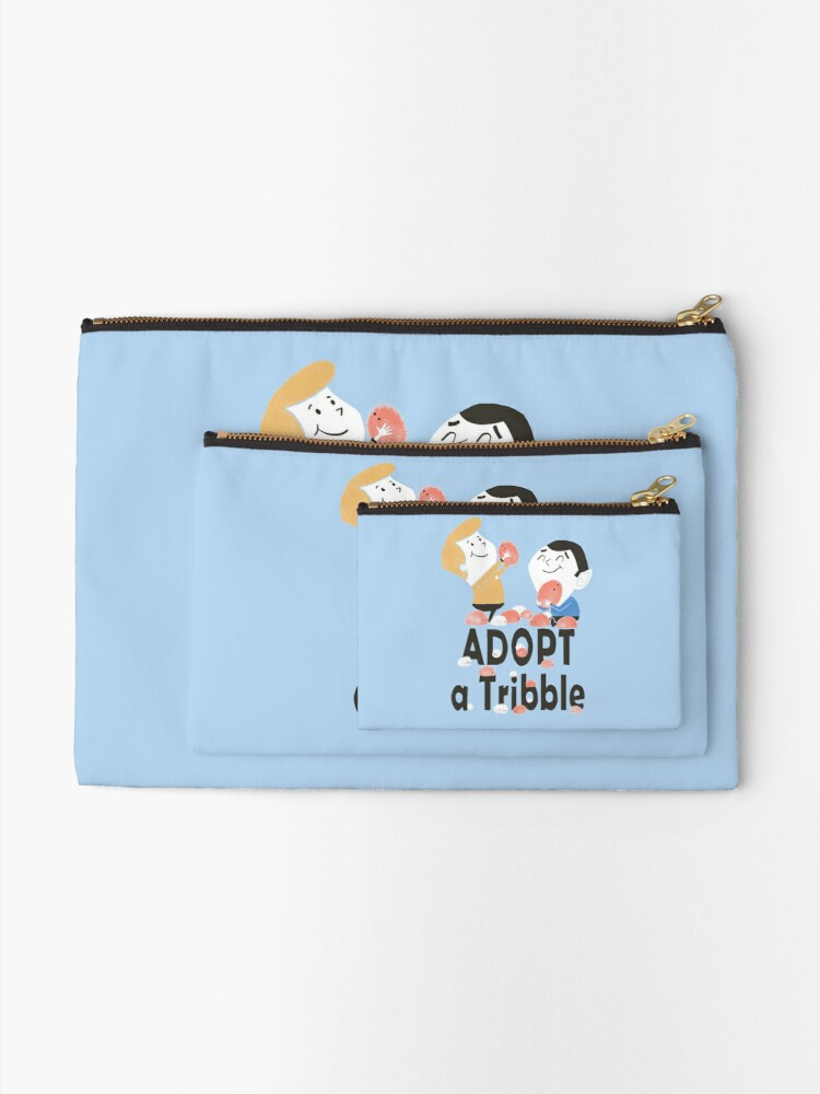 Alternate view of Adopt A Tribble Zipper Pouch