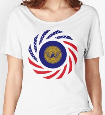 Atlanta Murican Patriot Flag Series Relaxed Fit T-Shirt