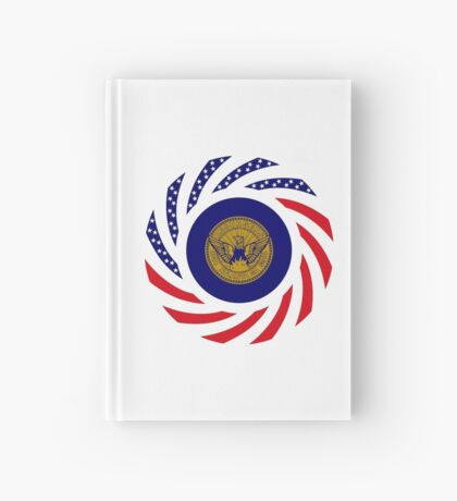 Atlanta Murican Patriot Flag Series Hardcover Journal