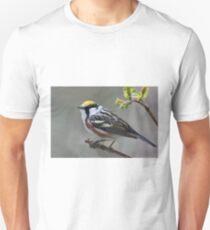 Chestnut-sided Warbler Portrait Unisex T-Shirt