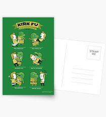 Kirk Fu Postcards