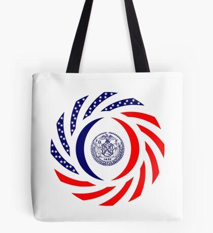 New York City Murican Patriot Flag Series Tote Bag