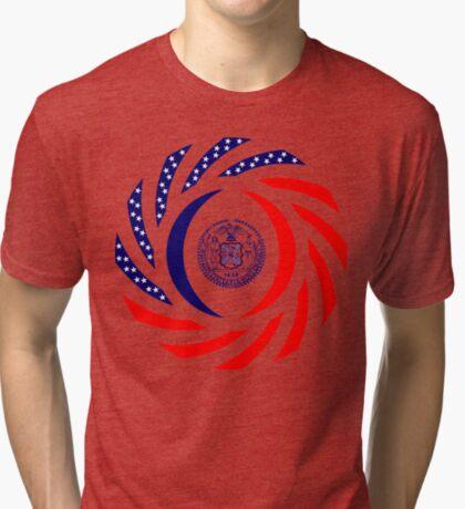 New York City Murican Patriot Flag Series Tri-blend T-Shirt