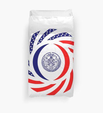 New York City Murican Patriot Flag Series Duvet Cover