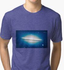 The little Galaxy (Majestic Sombrero Galaxy) Tri-blend T-Shirt