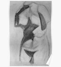 Female Torso Poster