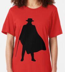 Zorro - Silhouette Slim Fit T-Shirt