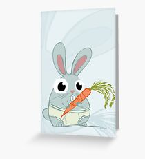 Trunk Bunny Greeting Card