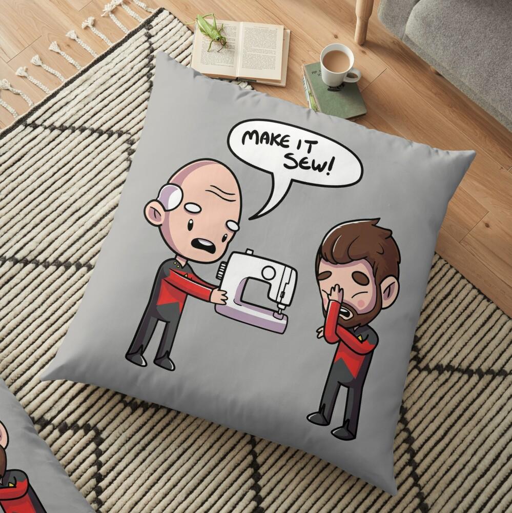 Make It Sew Floor Pillow