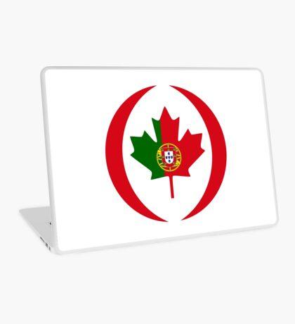 Portuguese Canadian Multinational Patriot Flag Series Laptop Skin
