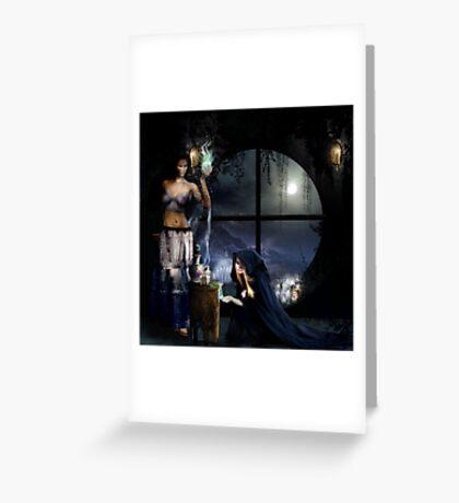 the Magic potion Maker Greeting Card