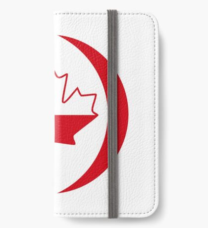Polish Canadian Multinational Patriot Flag Series iPhone Wallet