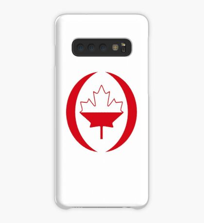 Polish Canadian Multinational Patriot Flag Series Case/Skin for Samsung Galaxy
