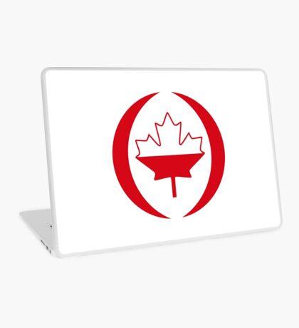 Polish Canadian Multinational Patriot Flag Series Laptop Skin