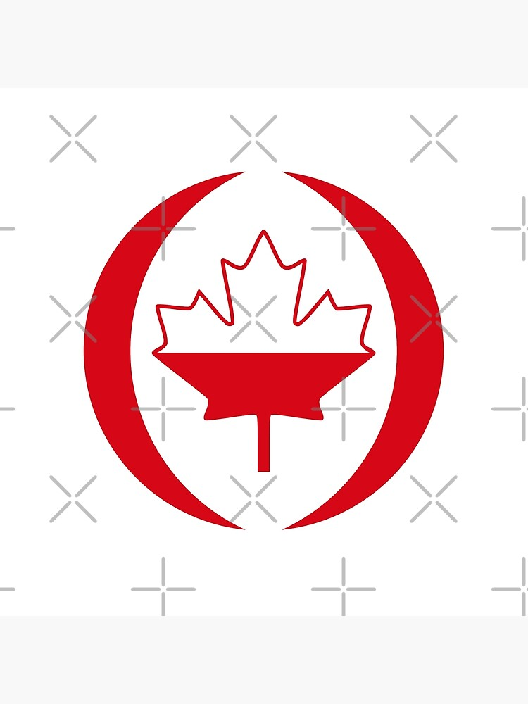 Polish Canadian Multinational Patriot Flag Series by carbonfibreme