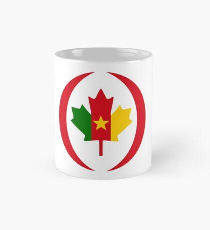 Cameroon Canadian Multinational Patriot Flag Series Mug
