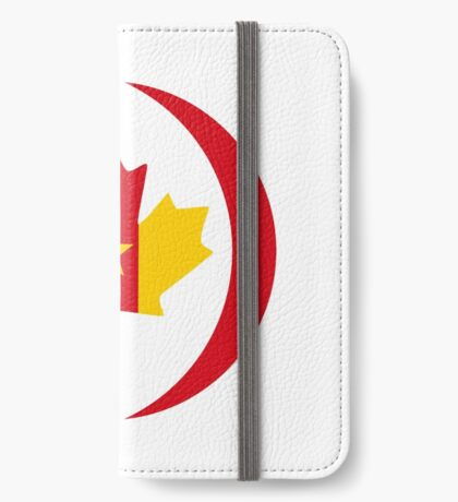 Cameroon Canadian Multinational Patriot Flag Series iPhone Wallet