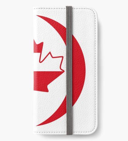 Austrian Canadian Multinational Patriot Flag Series iPhone Wallet