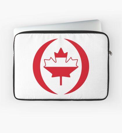 Austrian Canadian Multinational Patriot Flag Series Laptop Sleeve