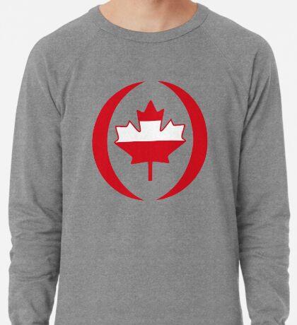 Austrian Canadian Multinational Patriot Flag Series Lightweight Sweatshirt