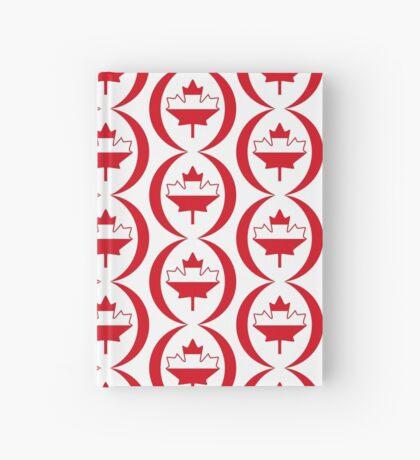 Austrian Canadian Multinational Patriot Flag Series Hardcover Journal
