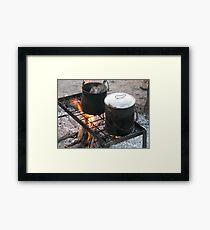 Billy Boiling Framed Print