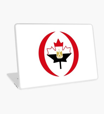 Egyptian Canadian Multinational Patriot Flag Series Laptop Skin