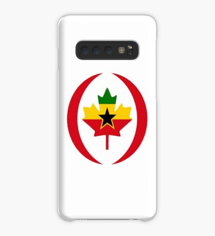 Ghanaian Canadian Multinational Patriot Flag Series Case/Skin for Samsung Galaxy