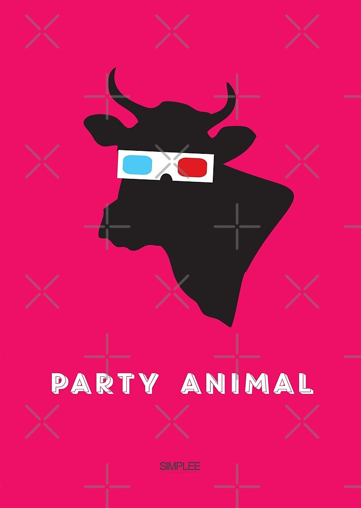 Simplee Cards: Party Animal 2 of 3 by SimpleeShop