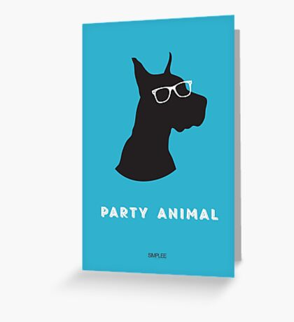 Simplee Cards: Party Animal 1 of 3 Greeting Card