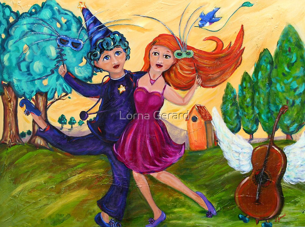 The Dance by Lorna Gerard