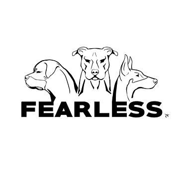 Dog Trio - Fearless by DarkestBuddha