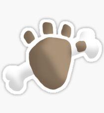 lightning paw emblem... Sticker