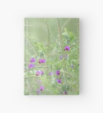 Rain on Poppies and Sweet Peas Hardcover Journal