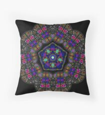 Owlspook Globe 06 Throw Pillow