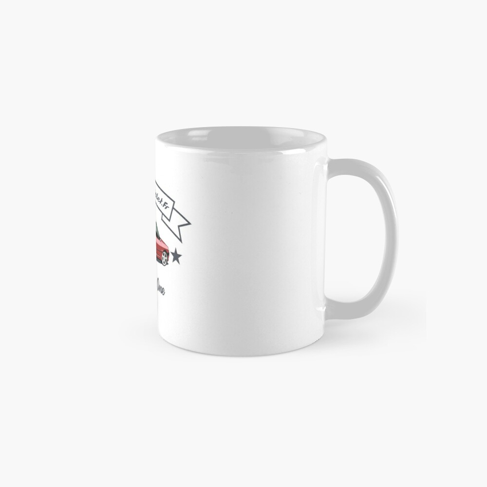 Since Day One - Rouge Lucifer / Abricot [Fond Blanc] Mug classique