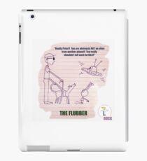 Der Alien und der Blinde (Cartoon) iPad-Hülle & Klebefolie
