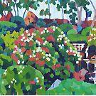 Japanese Garden  by Mellissa Read-Devine