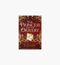 The Princess And The Orrery Cover Art Board Print