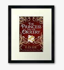 The Princess And The Orrery Cover Framed Print